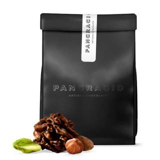 Rocas Suizas de Chocolate Negro, Almendra, Avellana y Pistacho 140 grs