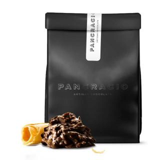 Crujiente de Chocolate Negro con Barquillo, 140grs
