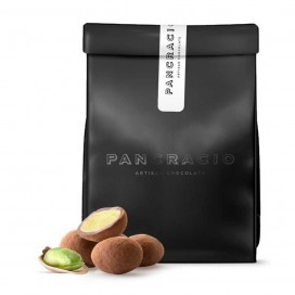 Caramelised Pistachios Covered with Milk Chocolate, 140 grs