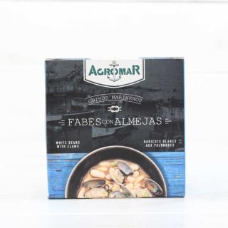 Fabes con Almejas tradicional, 420 grs