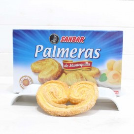 Unquera Puff Pastry Palms 10 units