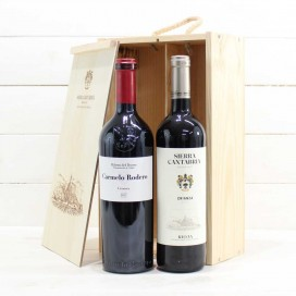 Wooden Case 2 Bottles of Wine nº1