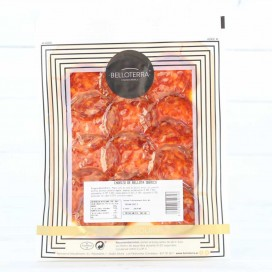 Chorizo of Bellota 100% Iberian, individually boxed 80 grams,