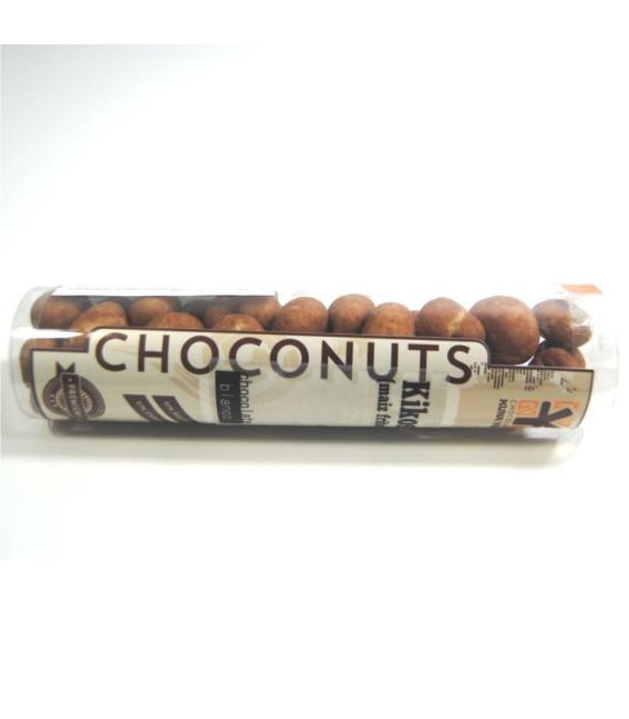 Kikos bañados de chocolate blanco,110 grs