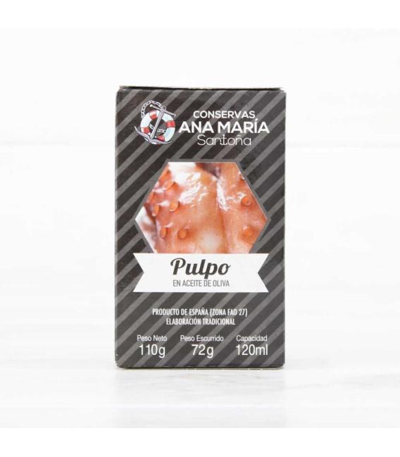 Pulpo en Aceite de Oliva 110gr Ana Maria
