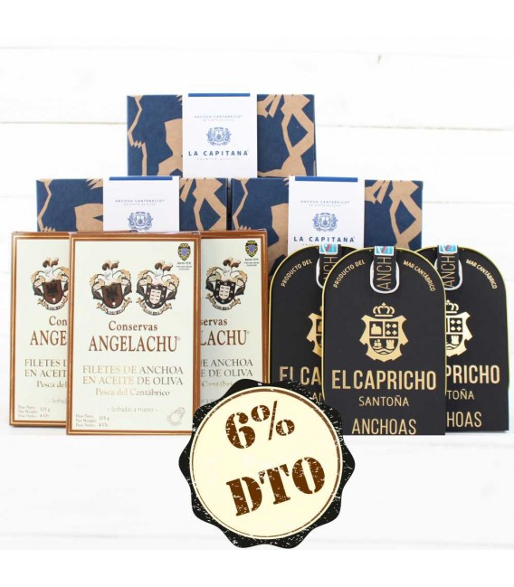 Pack Ahorro Anchoas Premium 2