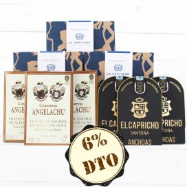Pack Ahorro Anchoas Premium 2