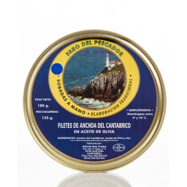 Anchovies from Santoña in Olive Oil 180 Grs. The Fisherman's Lighthouse