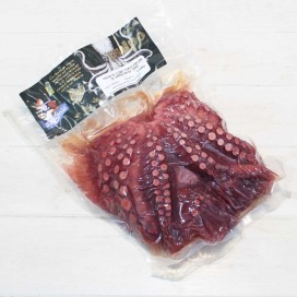Cooked Octopus in its Juice, vacuum packed. 1200/1500 Grs
