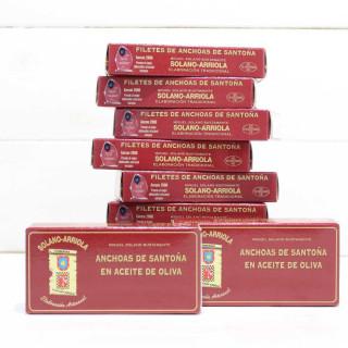 Pack Promoción 10 Octavillos de Anchoas Solano Arriola