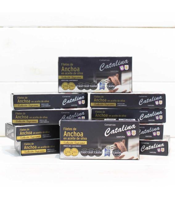 Pack Promoción 10 Octavillos de Anchoas Catalina