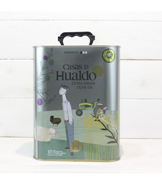 Aceite de Oliva Virgen Extra Casas de Hualdo 3 l.