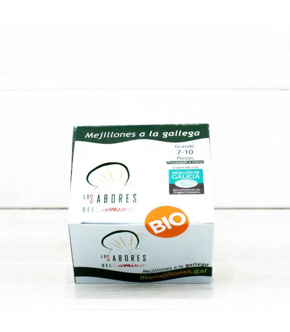 Mejillones Gallegos a la Gallega 7/10 piezas BIO, 110gr