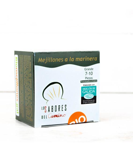 Mejillones Gallegos a la Marinera 7/10 piezas BIO, 110 gr