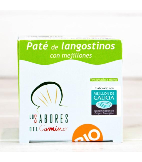 Paté de Langostinos con Mejillones Gallegos BIO, 102 gr
