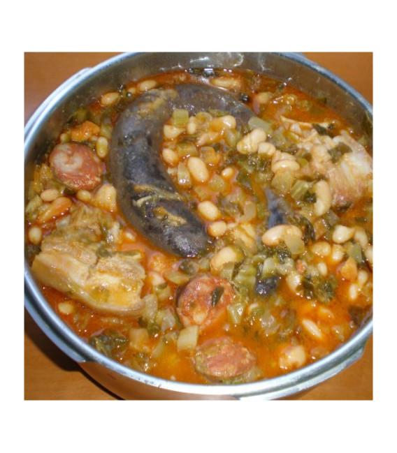 Cocido Lebaniego, el autentico. 950 grs
