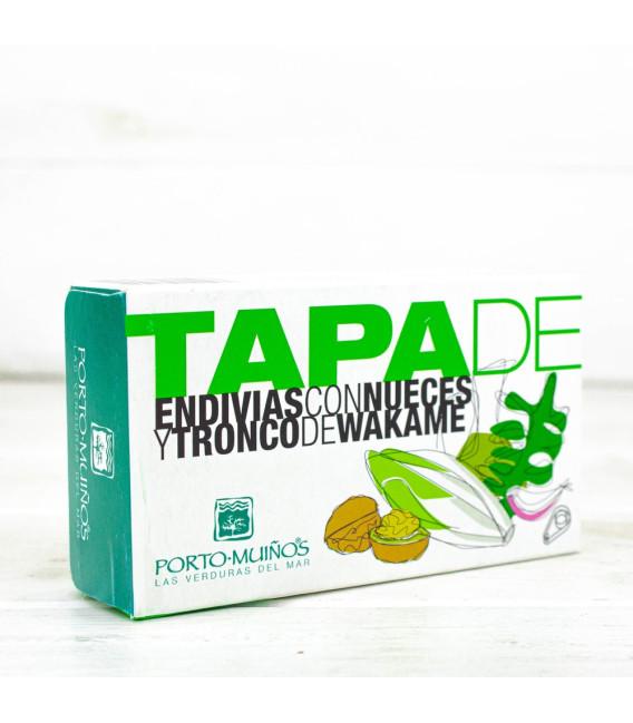 Tapa de Endivias con Nueces y Wakame, 115 gr