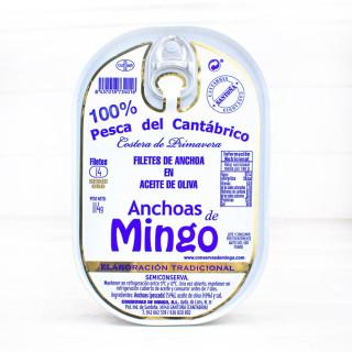 Anchoas en Oliva ALTA RESTAURACIÓN 14 Filetes, Mingo