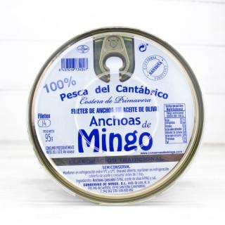 Anchoas de Santoña en Aceite de Oliva 14 Filetes, Mingo