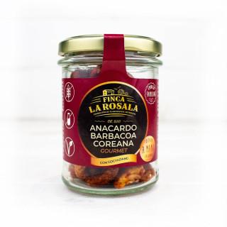 Jar Cashew Bbq Smoked Gourmet, 90 grams