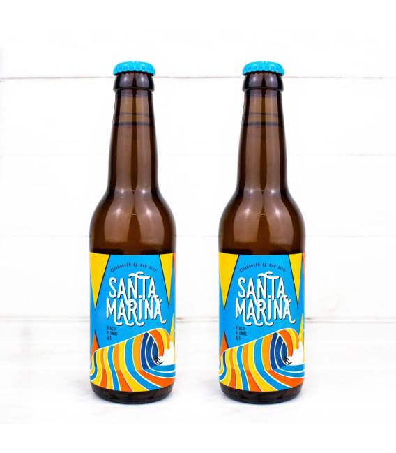 """Cerveza """"Santa Marina"""", 0,33 l, Rocker Beer."""