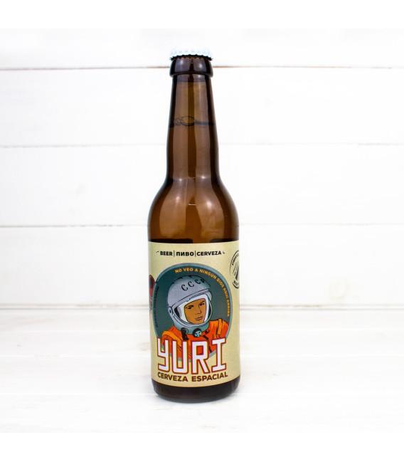 """Cerveza """"Espacial Yuri"""", 0,33 l., Rocker Beer."""