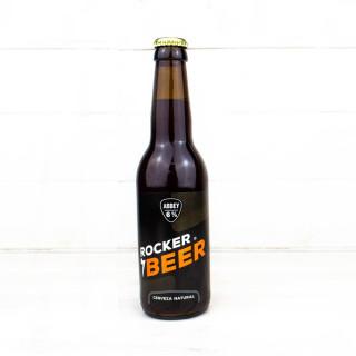 """Cerveza Natural """"Abbey"""", 0,33 l., Rocker Beer."""