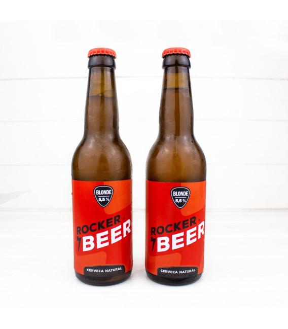 """Cerveza """"Blonde"""", 0,33 l., Rocker Beer"""