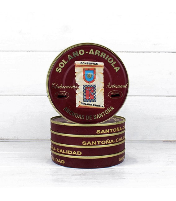 Pack Ahorro 5 Latas 180 Grs Anchoas Solano Arriola