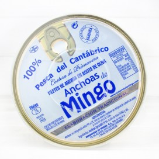 Anchoas de Santoña en Aceite de Oliva 24 Filetes, Mingo