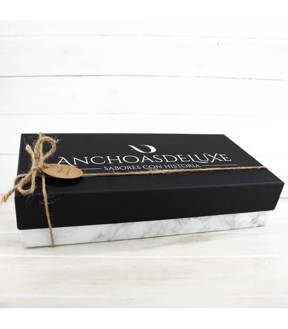 """Caja regalo Gourmet, San Valentín """"Una noche"""""""