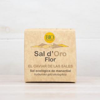 Sal de Flor de Oro Ecológica 125 grs.