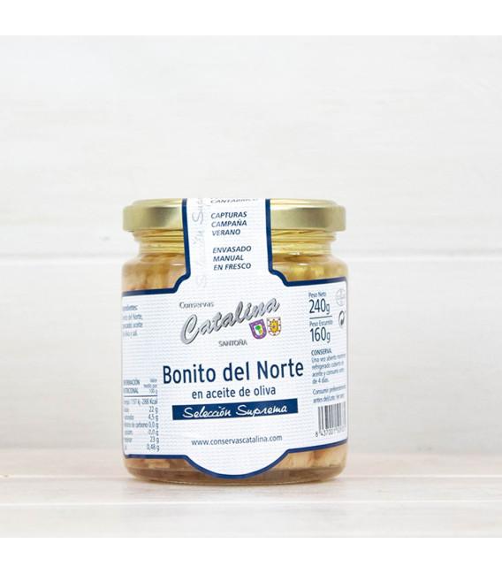 Bonito del norte en aceite de oliva 240 Grs. Catalina