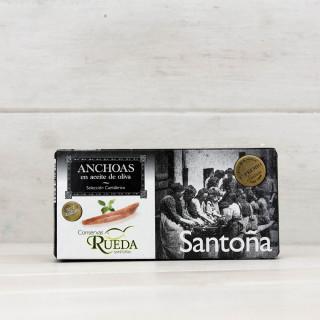 Anchovis aus Santoña in Olivenöl 50 g Rad