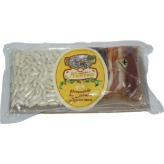Vorbereitet von Asturischen bohneneintopf, 3 portionen 310 g