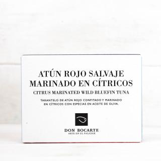 Tarantelo de Atún Rojo con Cítricos 120gr, Don Bocarte