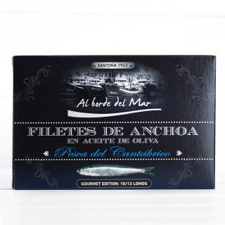 Anchoas en Aceite de Oliva ALTA RESTAURACIÓN 120 grs. Al Borde del Mar