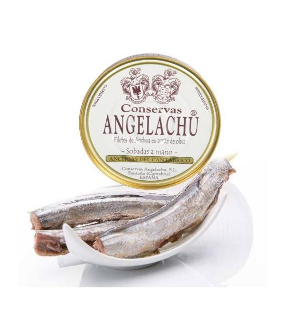 Relanzon ou l'Aiguille dans l'Huile d'olive 280 Gr. Angelachu