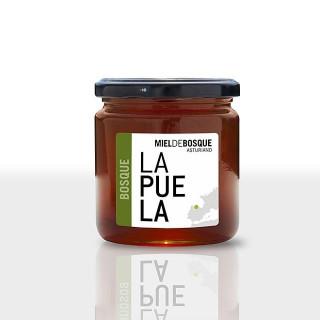 Le miel de forêt naturelle pot de 450 grammes