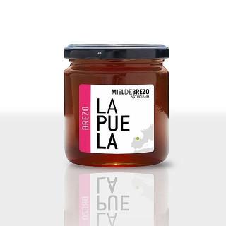 Miel de bruyère naturelle pot de 450 grammes