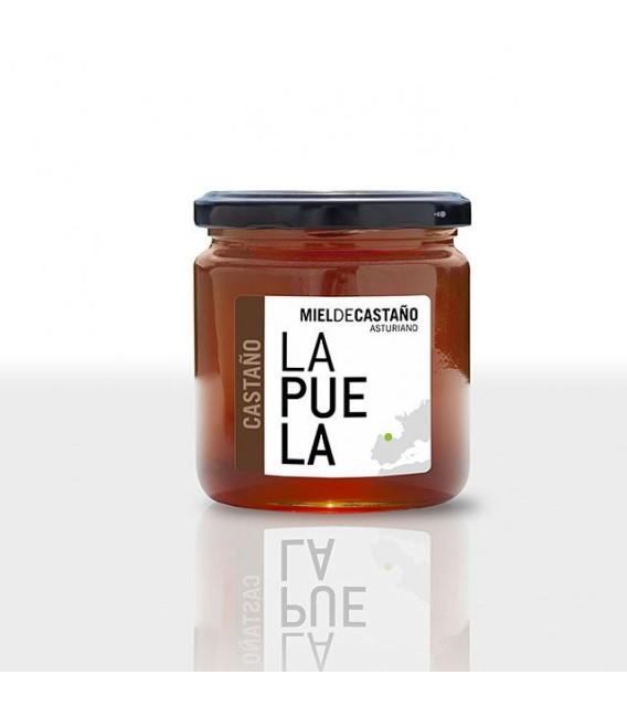 Miel de Castaño natural tarro de 450 grs