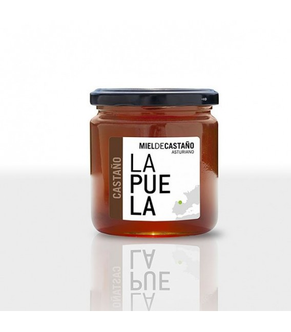 Miel de châtaignier naturel pot de 450 grammes