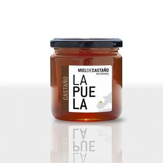Miele di castagno naturale vasetto di 450 grammi