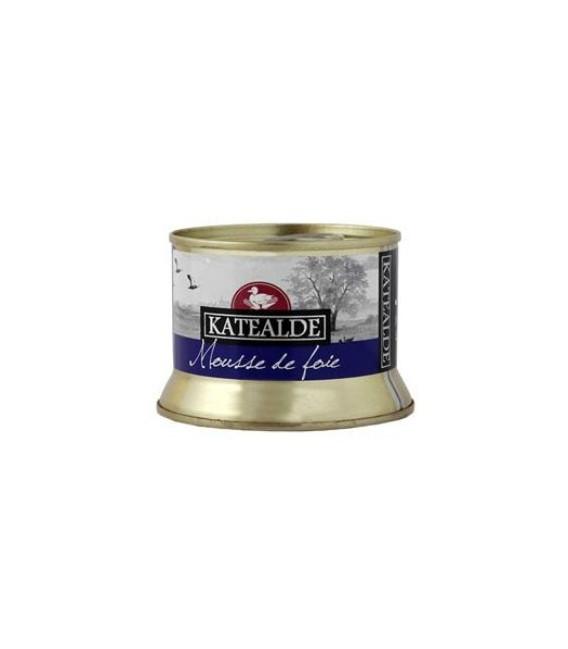 Mousse di Foie Gras d'Anatra 50%, 130 gr