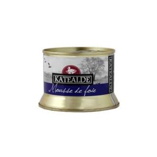 Mousse de Foie Gras de Pato 50%, 130 grs