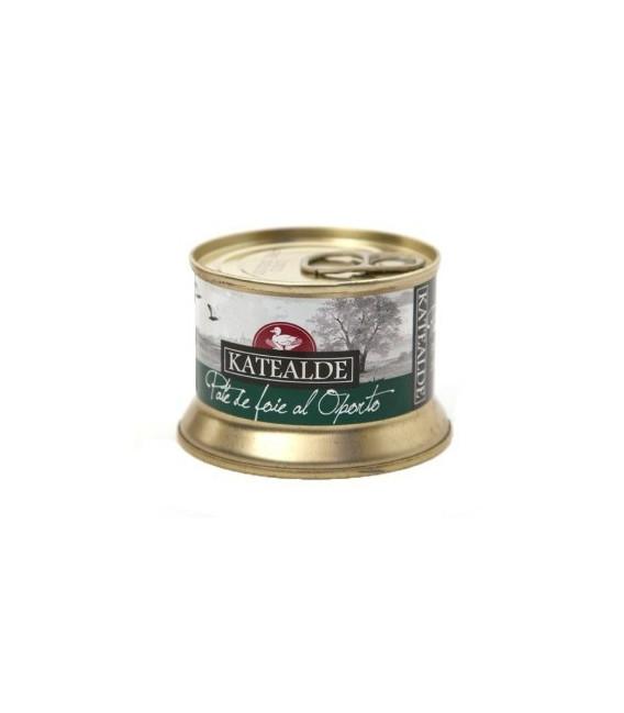 Patè di Foie Gras d'Anatra in un porto , 130 gr
