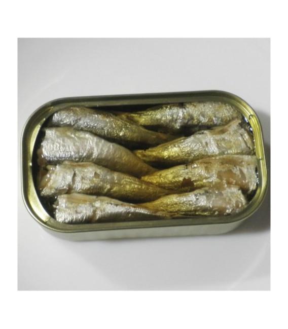 Sardinen in Olivenöl 115 gr 16/20 stück. Angelachu