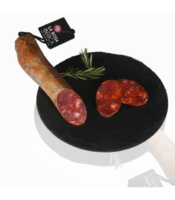 About Chorizo sausage Iberian of Bellota Guijuelo100 grs