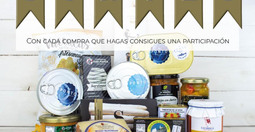Con tu pedido de Septiembre entras en el sorteo de un lote gourmet | Tienda Gourmet Online Anchoasdeluxe