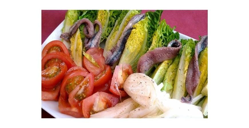 Receta de endivias con anchoas
